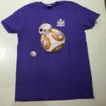 VINTAGE STARWARS NIGHT AT DOGER STADIUM TEE BLUE