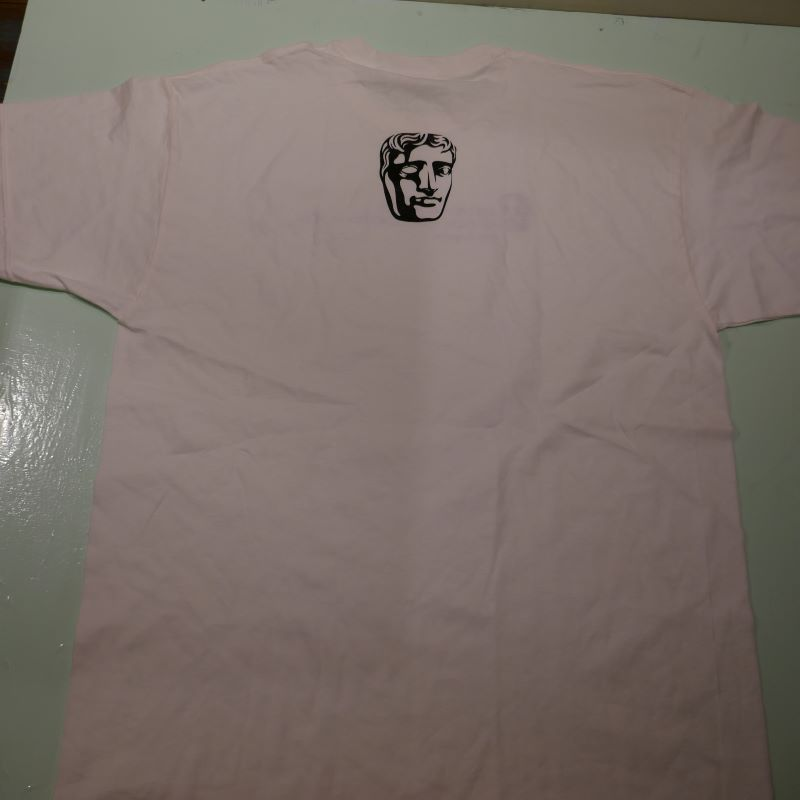 USED BRITISH ACADEMY OF FILM AND TELEVISION ARTS TEE WHITE