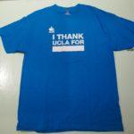 USED THANK UCLA DAY TEE LIGHTBLUE
