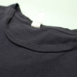 USED WILD PITCH RECORDS TEE BLACK