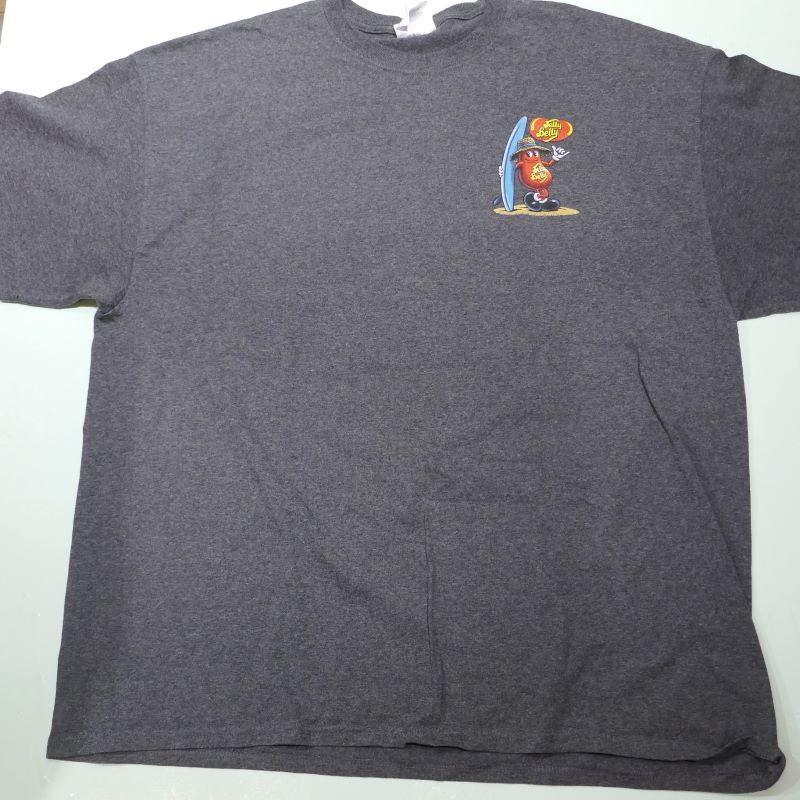 USED JELLY BELLY TEE GRAY