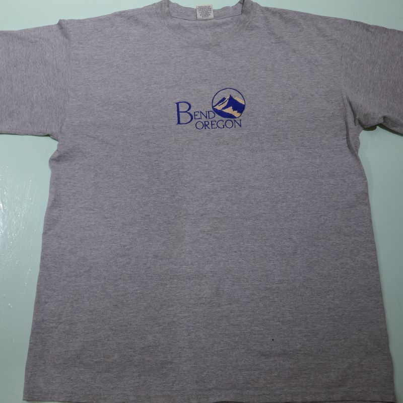 USED BEND OREGON TEE H.GRAY