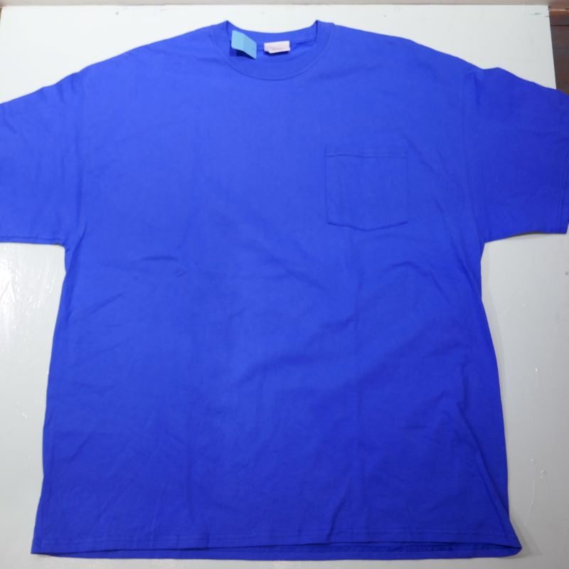 USED MENARDS STAFF TEE BLUE
