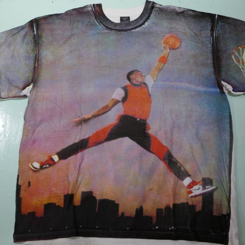 USED MICHAEL JORDAN TEE WHITE