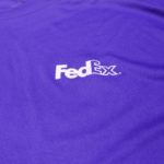 USED FEDEX S/S JERSEY SHIRT PURPLE
