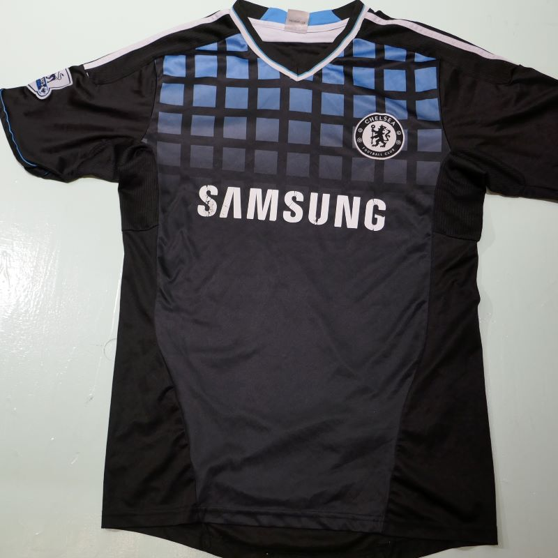USED CHELSEA FC S/S JERSEY SHIRT BLACK