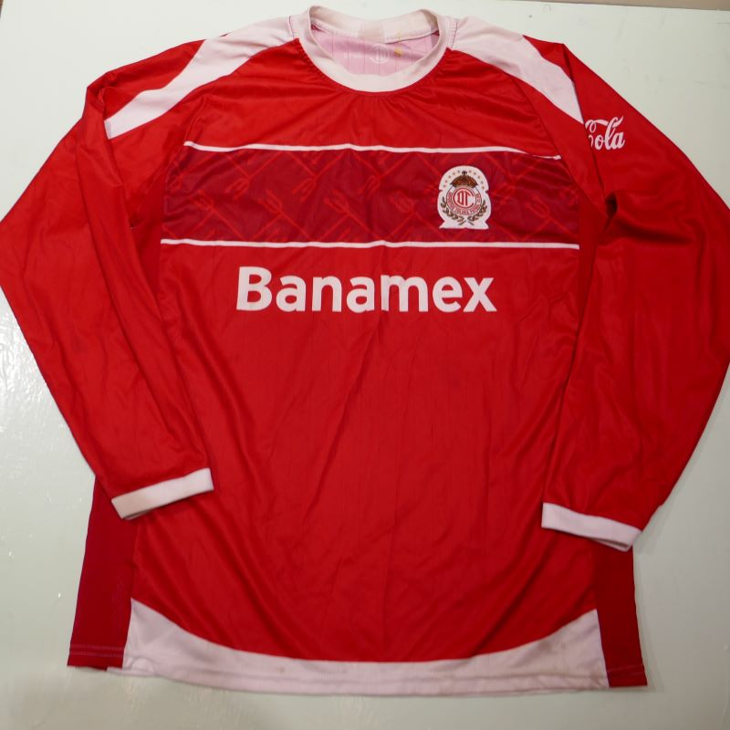 USED DEPOLTIVO TOLUCA FC L/S JERSEY SHIRT