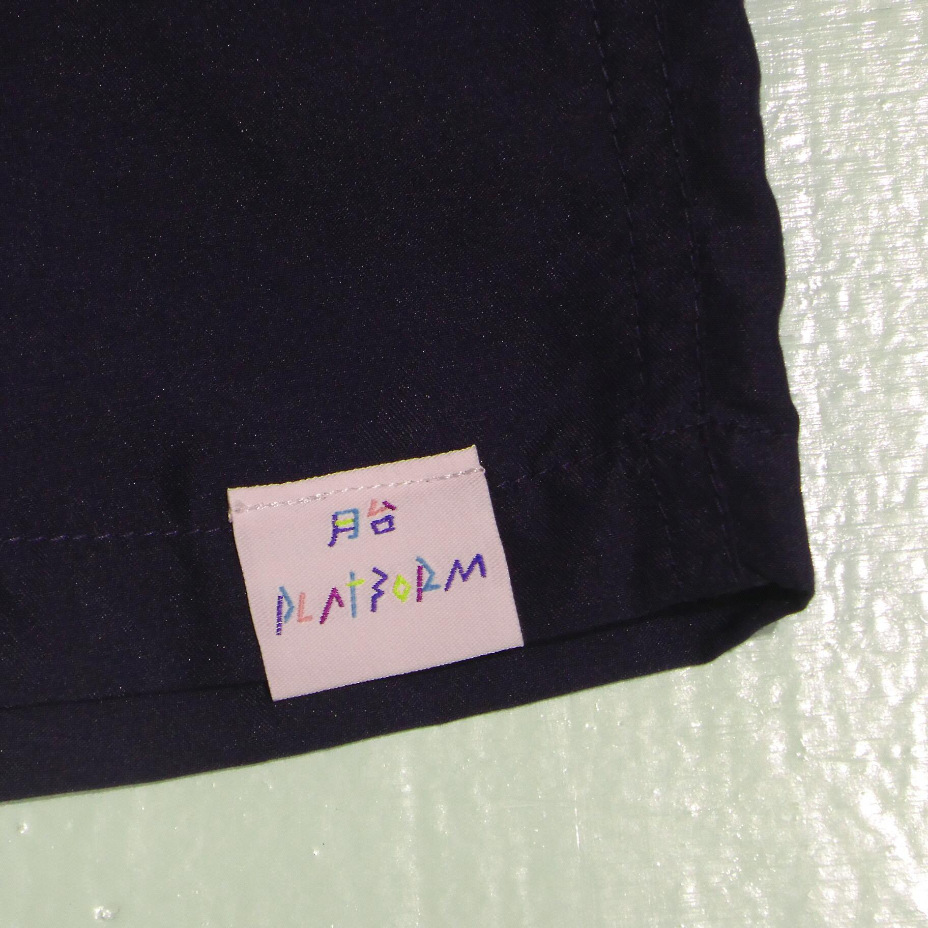 PLATFORM COLOR MICROFIBER SHORT PANTS 7COLORS