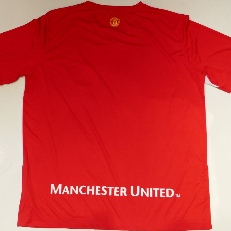USED MANCESTER UNITED S/S JERSEY SHIRT RED