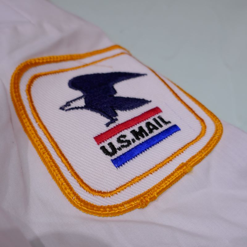 USED U.S MAIL S/S UNIFORM SHIRT WHITE