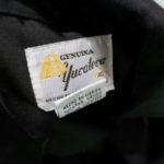 USED GENUINA YUCATECA S/S GUAYABERA SHIRT BLACK