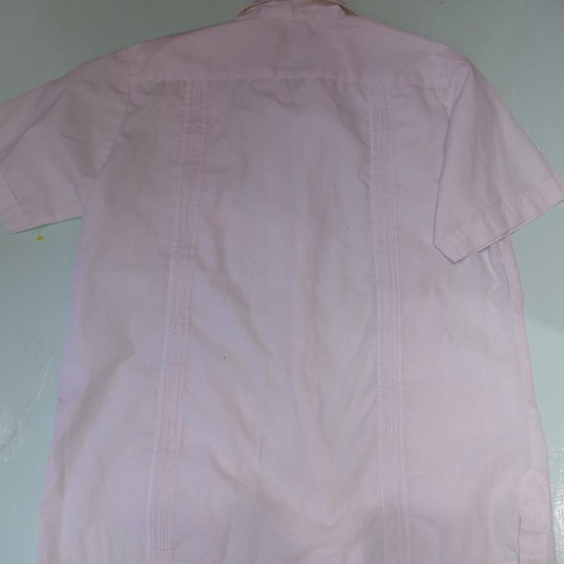 USED SCORPIO S/S GUAYABERA SHIRT WHITE