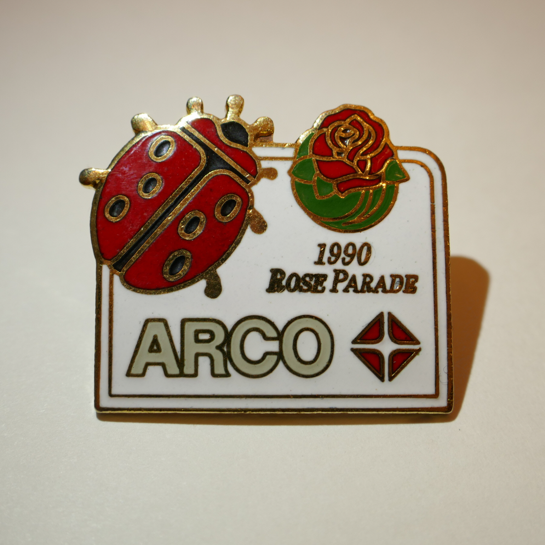ARCO 1990 ROSE PARADE pins