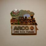 ARCO 1992 rose parade pins