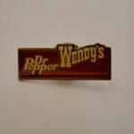 DrPepper × WENDY'S pins