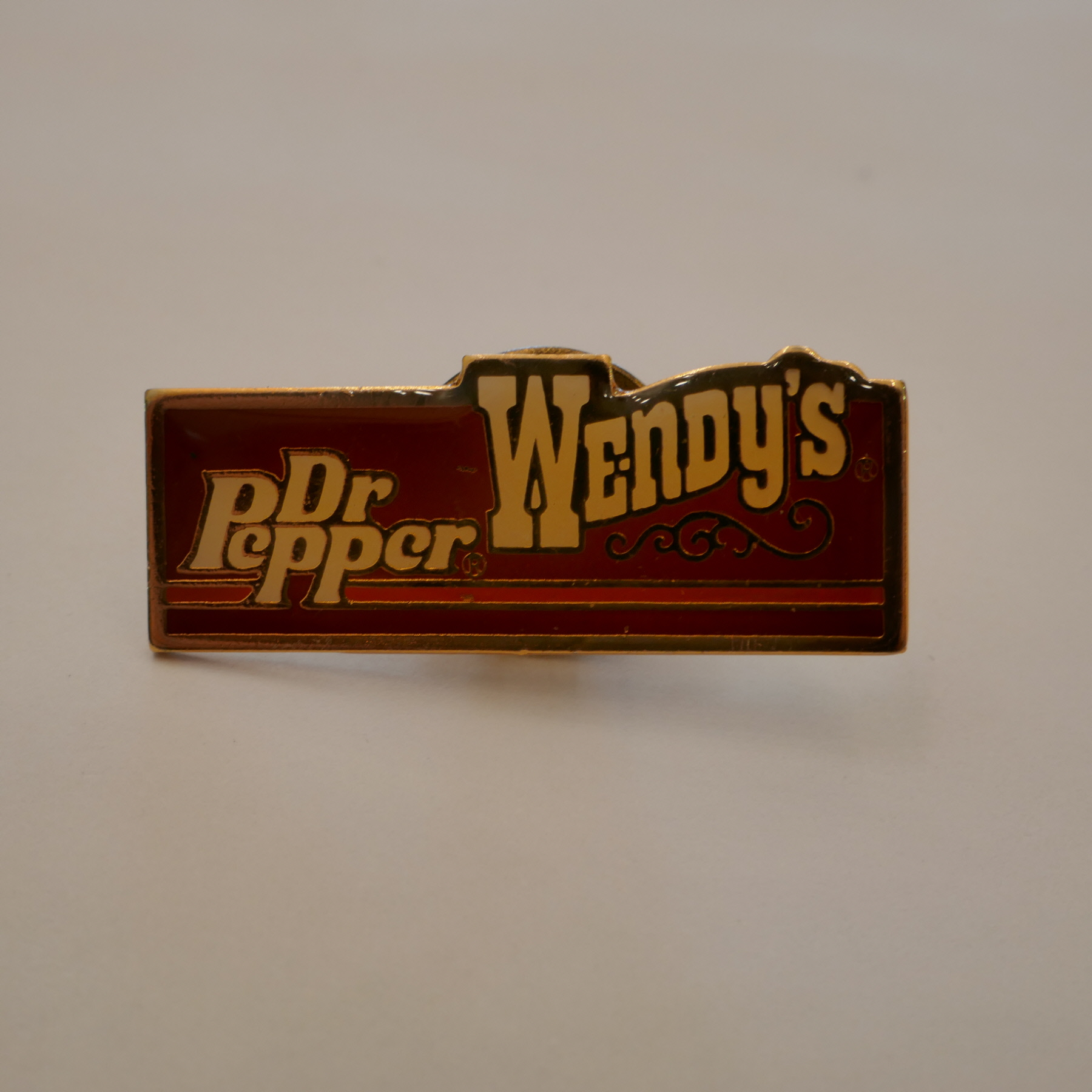 DrPepper × WENDY'S pins