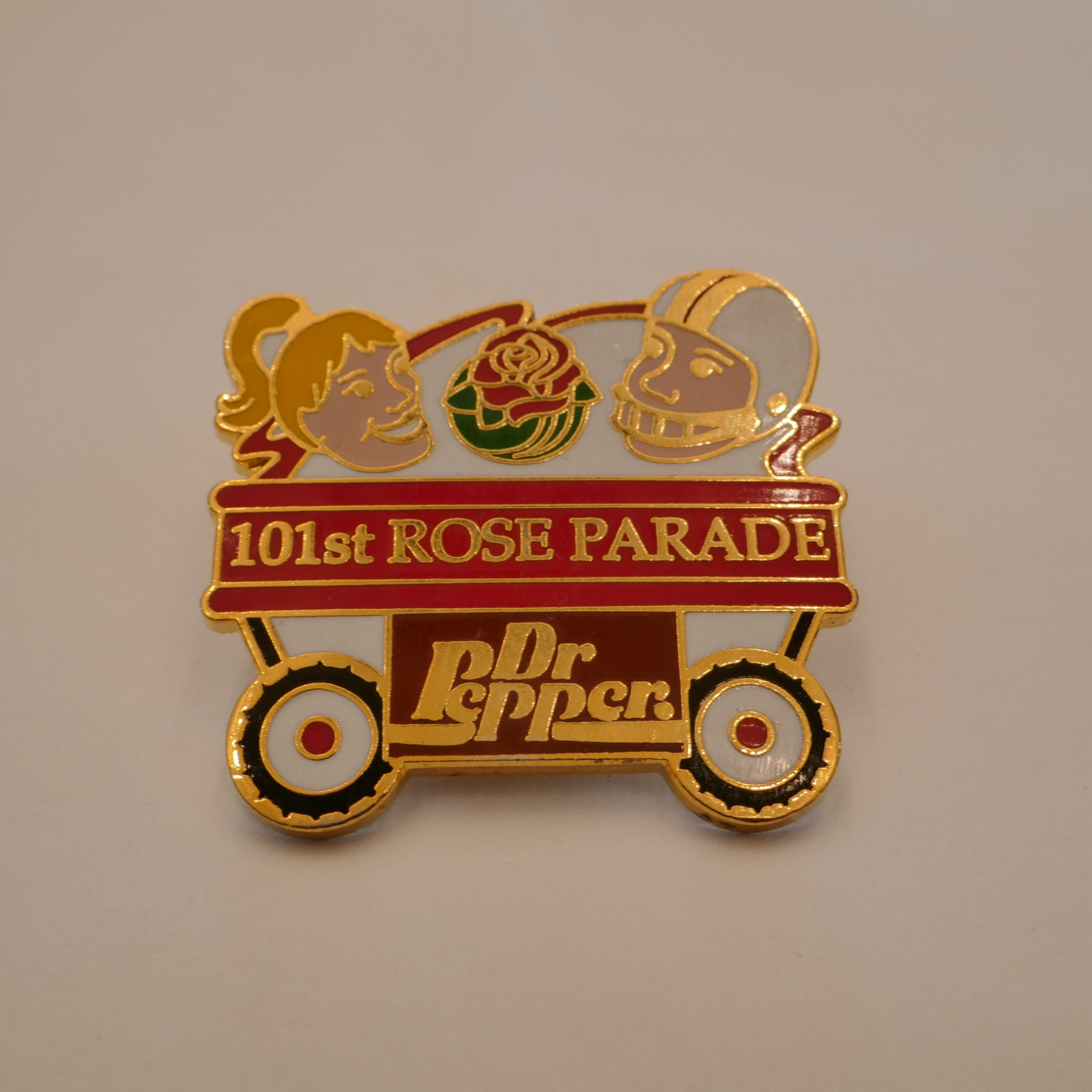 DrPepper 101st ROSE PARADE pins