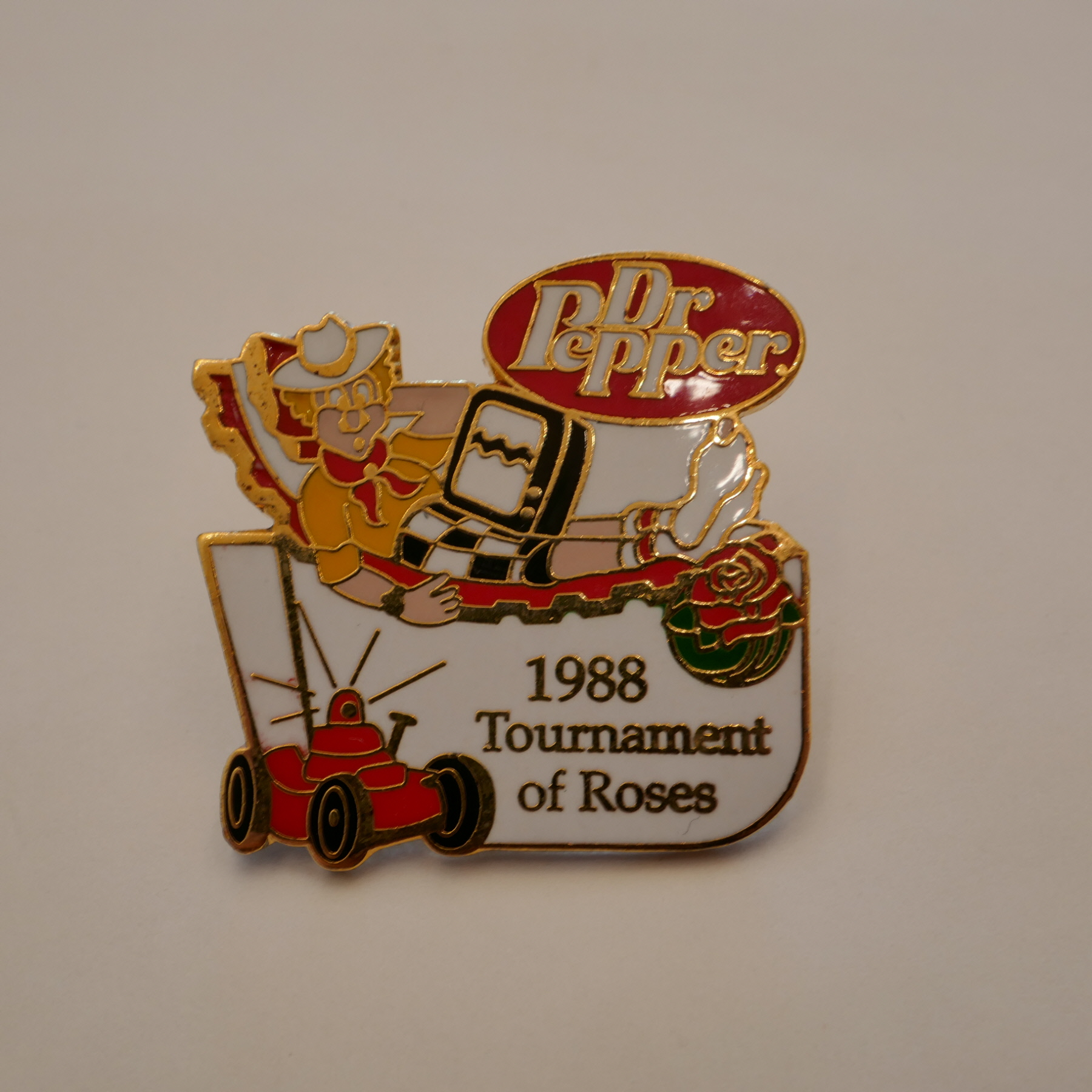 Dr Pepper 1998 tournament of Roses pins