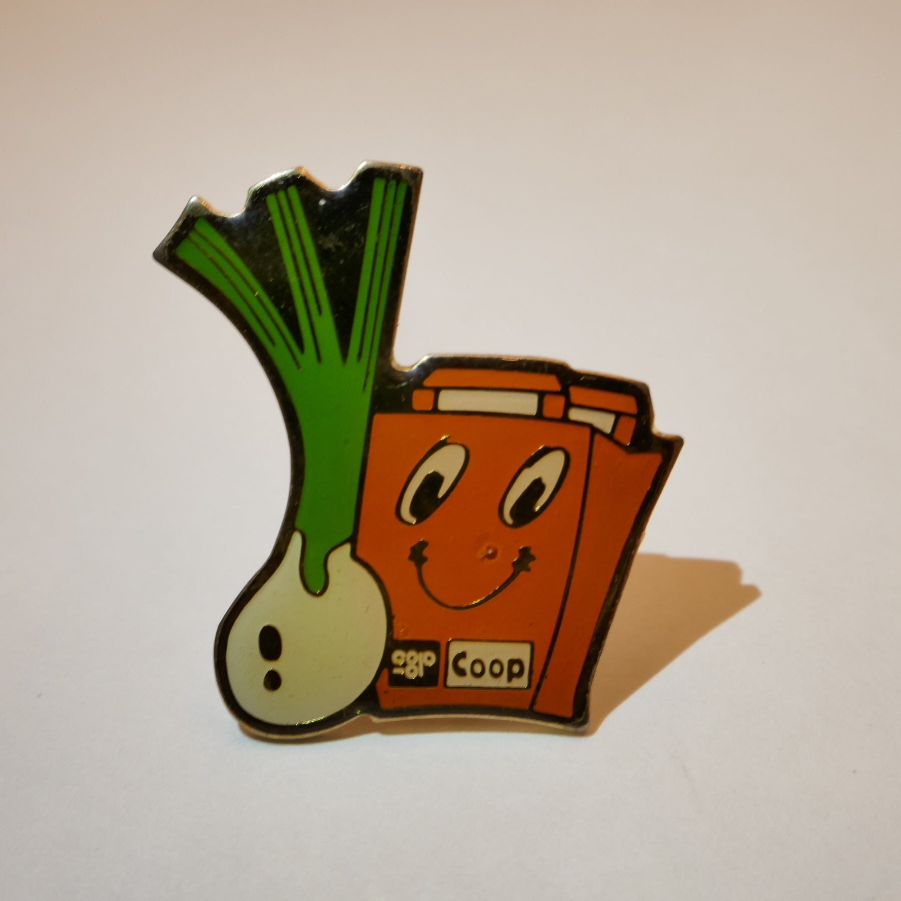 COOP ONION pins