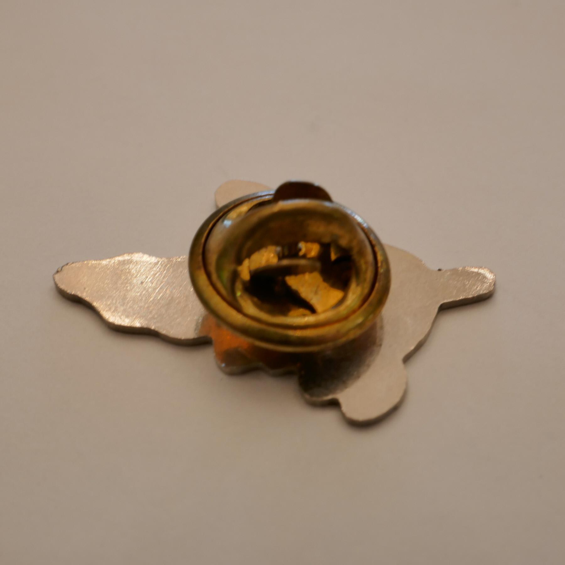 Yellow dog pins