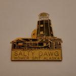 SALTY DAWG pins