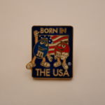 M&M BORN IN THE USA pins