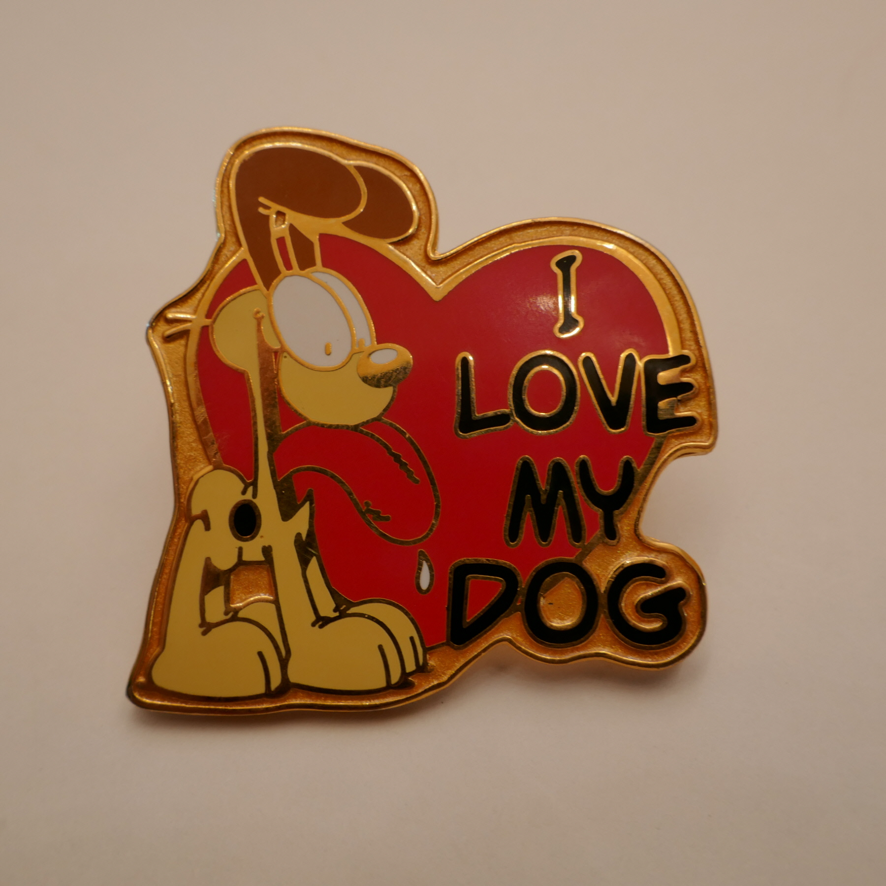 Odie I LOVE MY DOGS pins