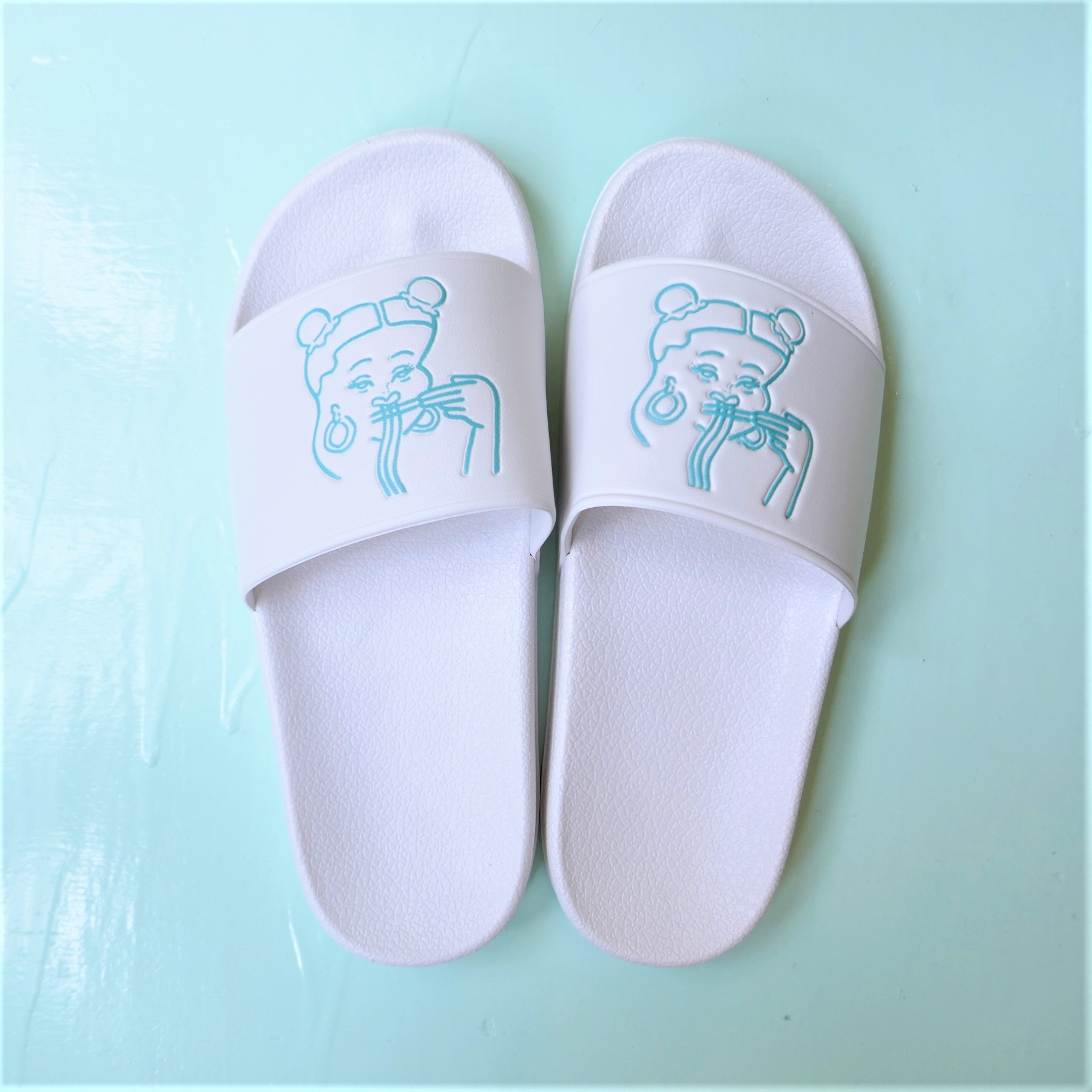 台風飯店 ORIGINAL LOGO SHOWER SANDAL MINT
