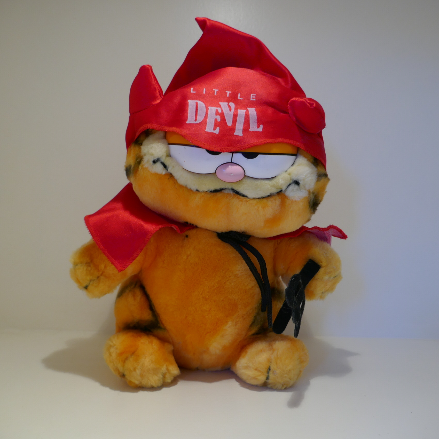 SOFT TOY GARFIELD LITTLE DEVIL PLUSH