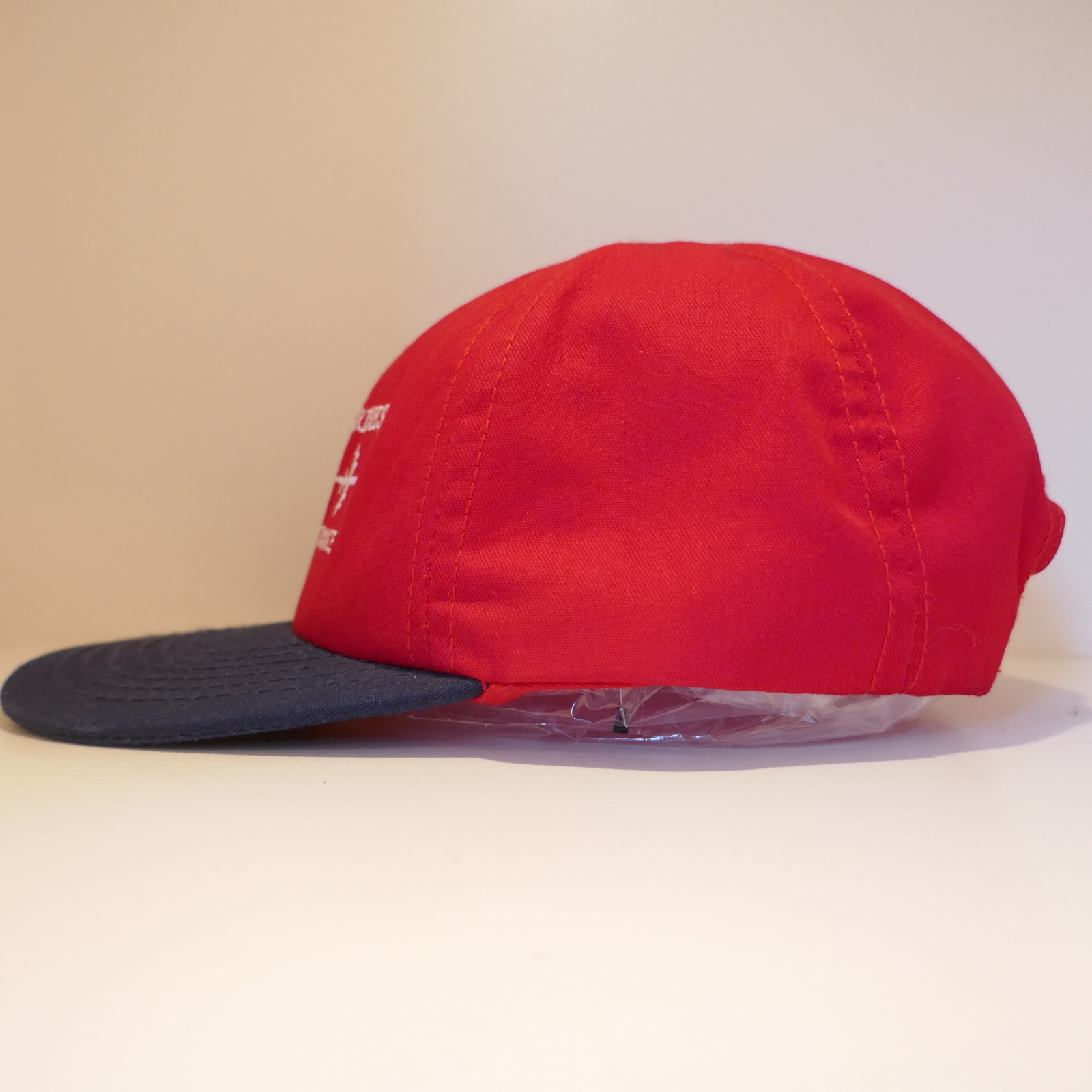 USED UNITED AIRLINES CAP RED×BLACK