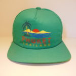 VINTAGE PHUKET SOUVENIR CAP GREEN