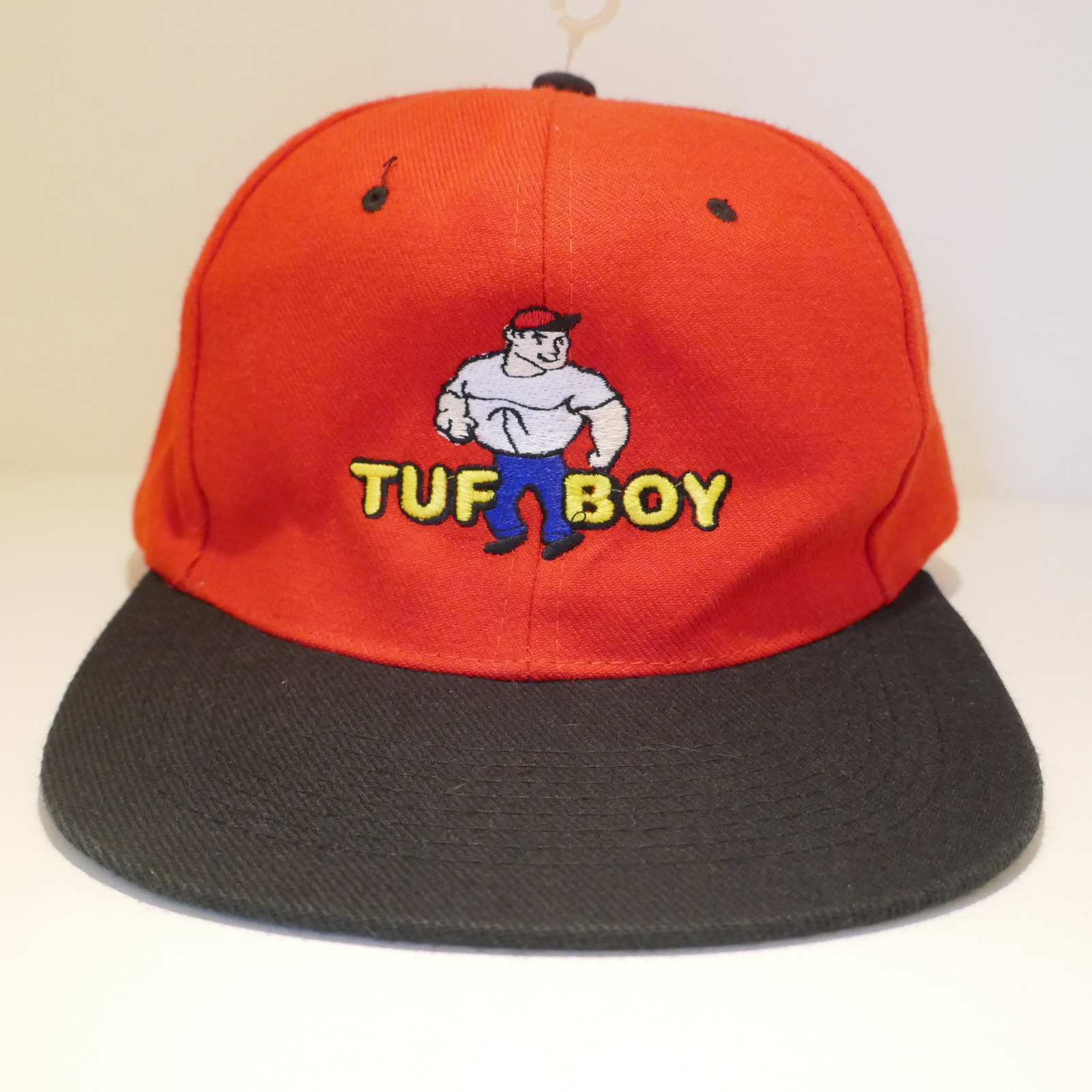 USED TUF BOY CAP RED×BLACK