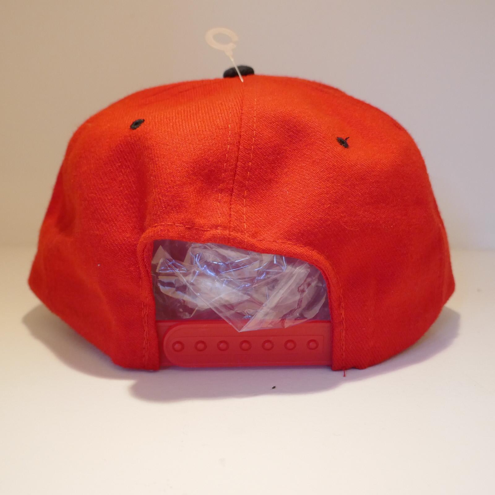 USED TUF BOY CAP RED×BLACK