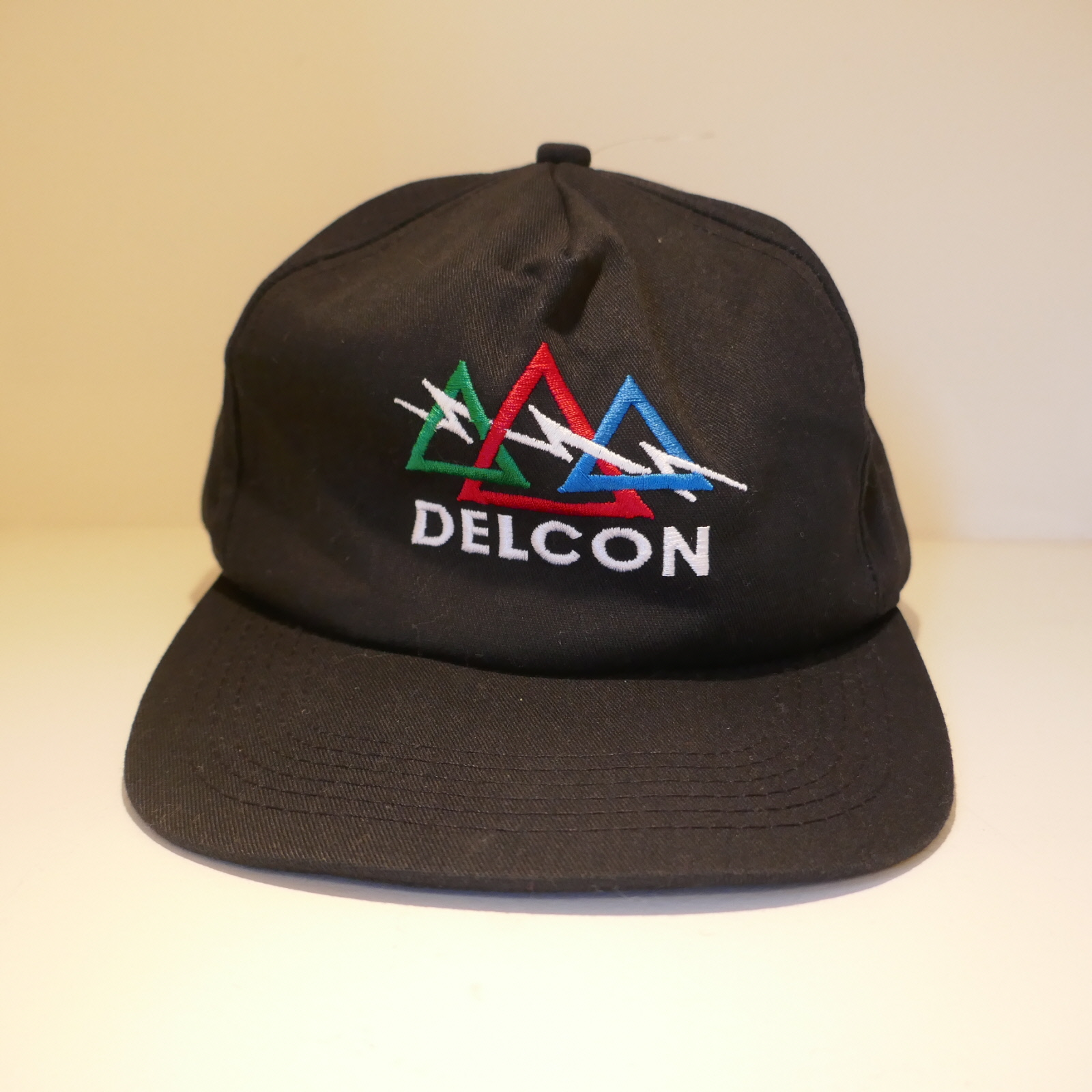 USED DELCON CAP BLACK