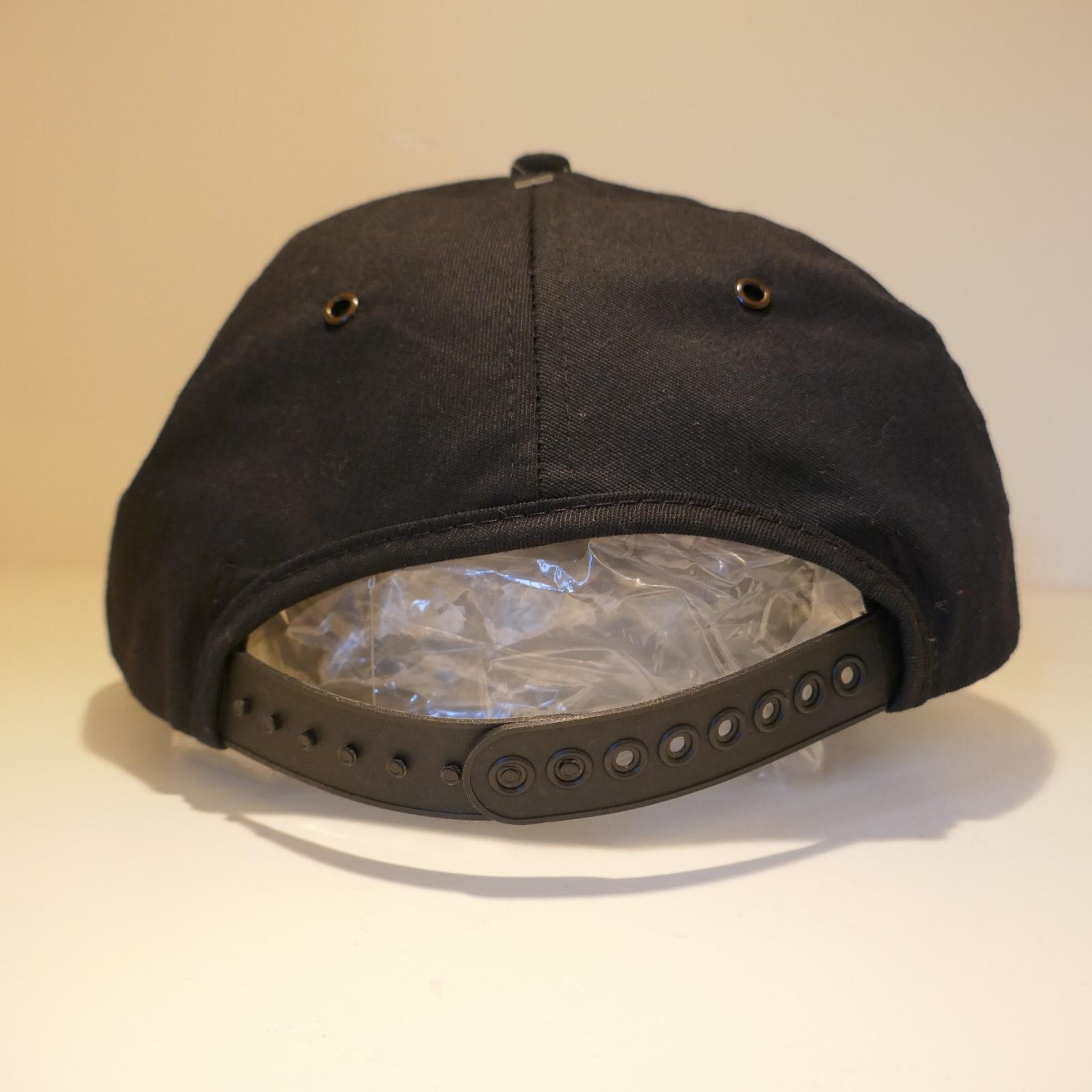 USED DELCON CAP BLACK