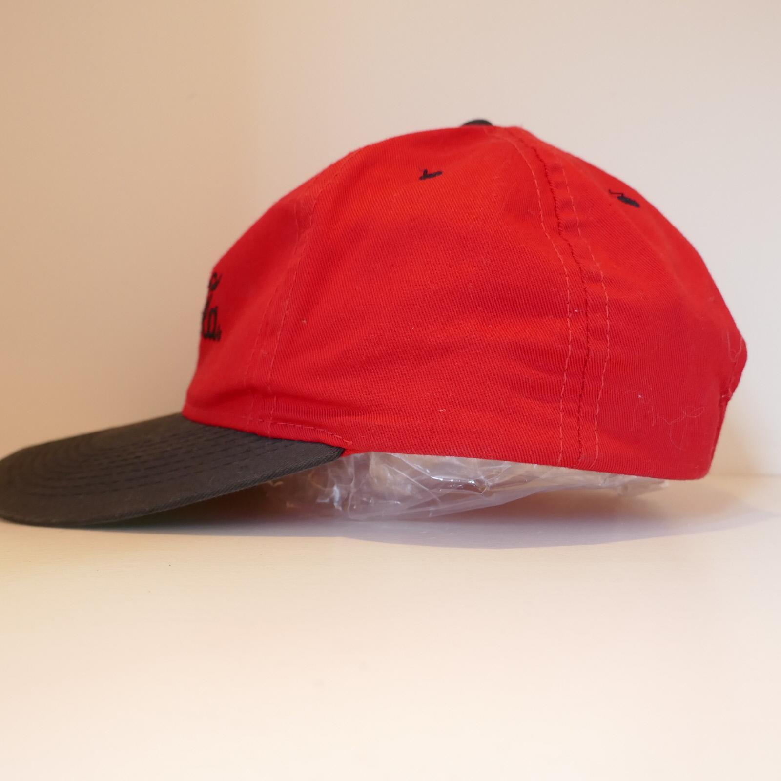 USED COCA COLA CAP RED×BLACK