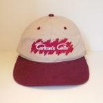 USED WAYNE CARLTON'S CALL CAP BEIGE×RED