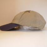 USED WRANGLER CAP BEIGE×NAVY