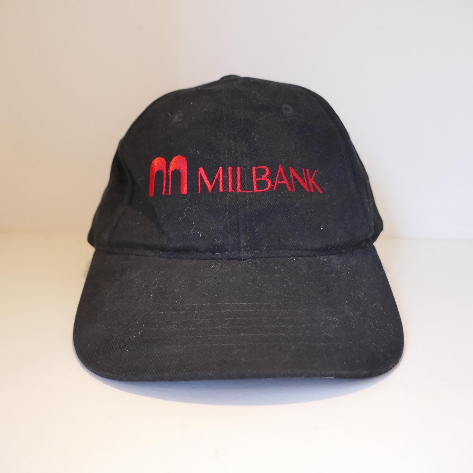 USED MILBANK LOGO CAP BLACK