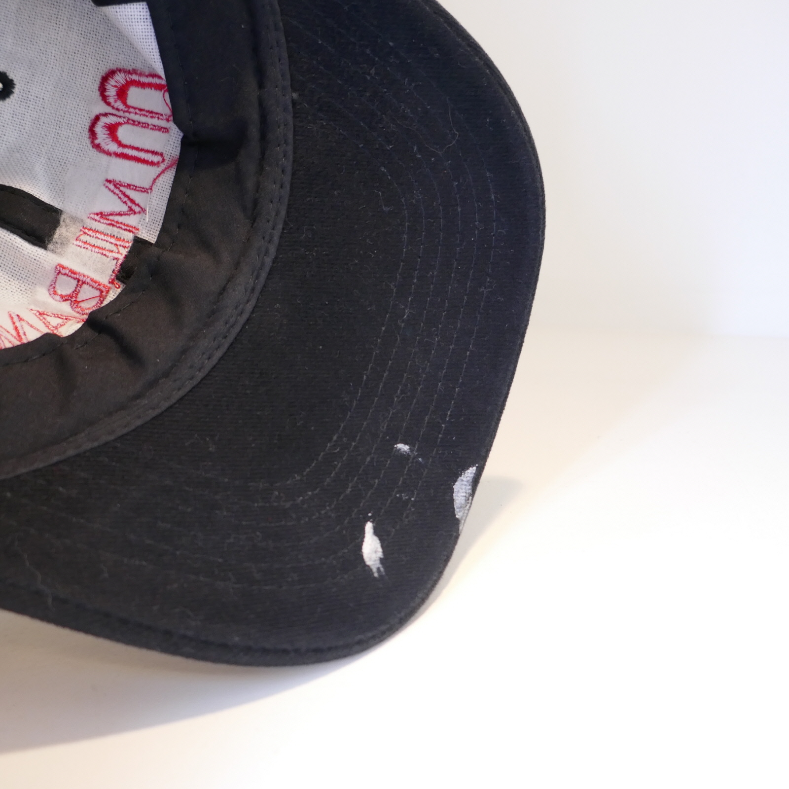 VINTAGE MILBANK LOGO CAP BLACK