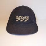 USED BOEING777 CAP BLACK