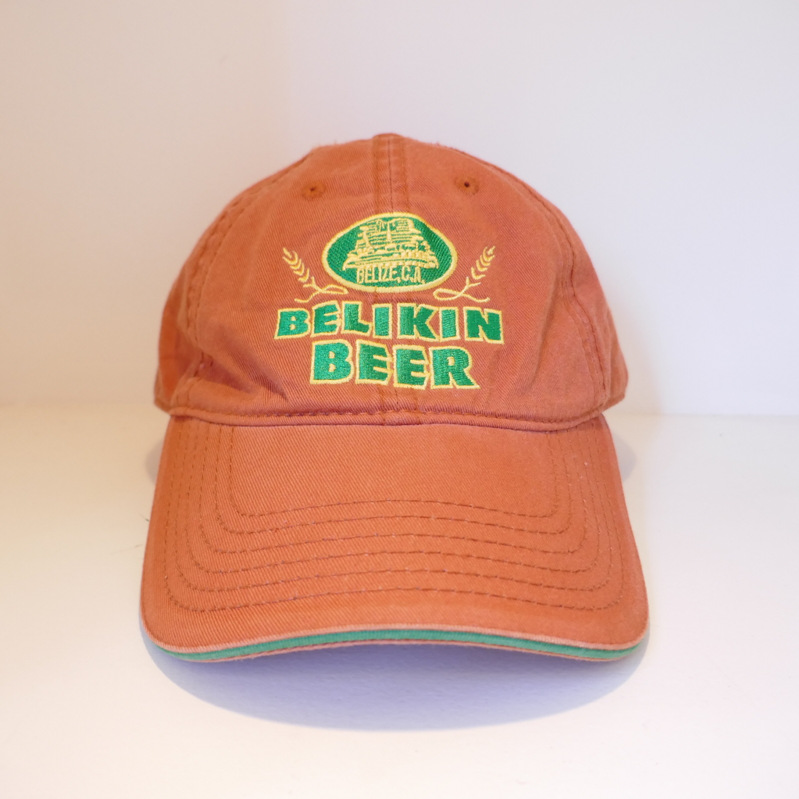 USED BELIKIN BEER CAP REDBROWN