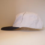 USED BUDWEISER CAP WHITE×NAVY