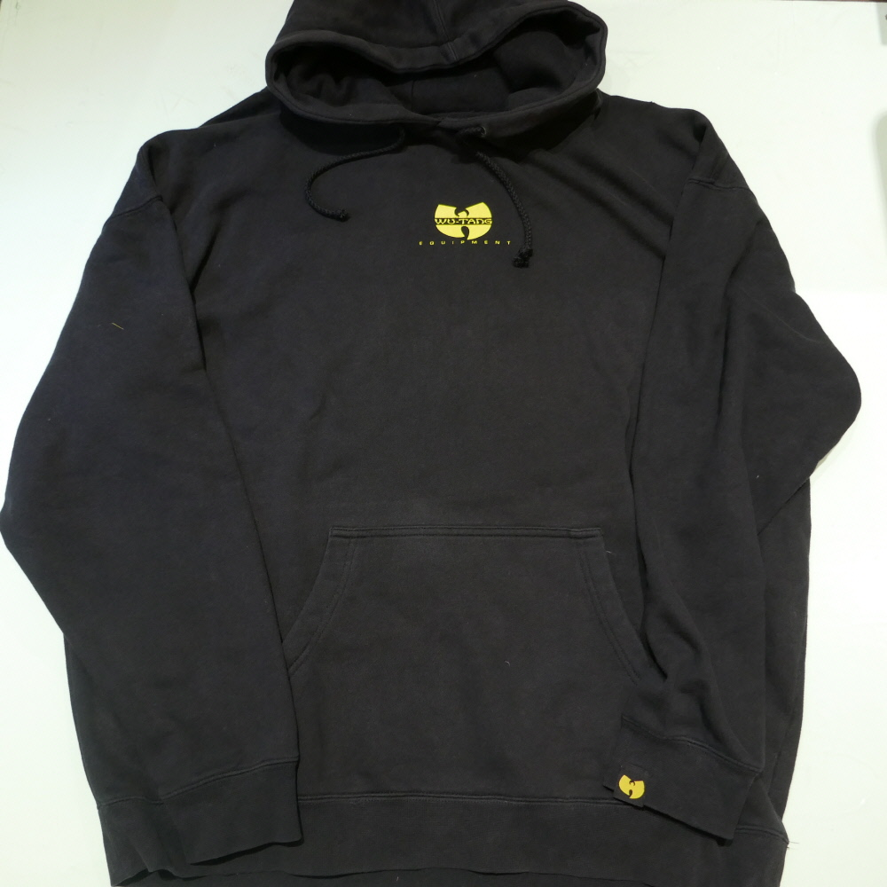 USED WU-TANG EQUIPMENT RAEKWON HOODIE BLACK