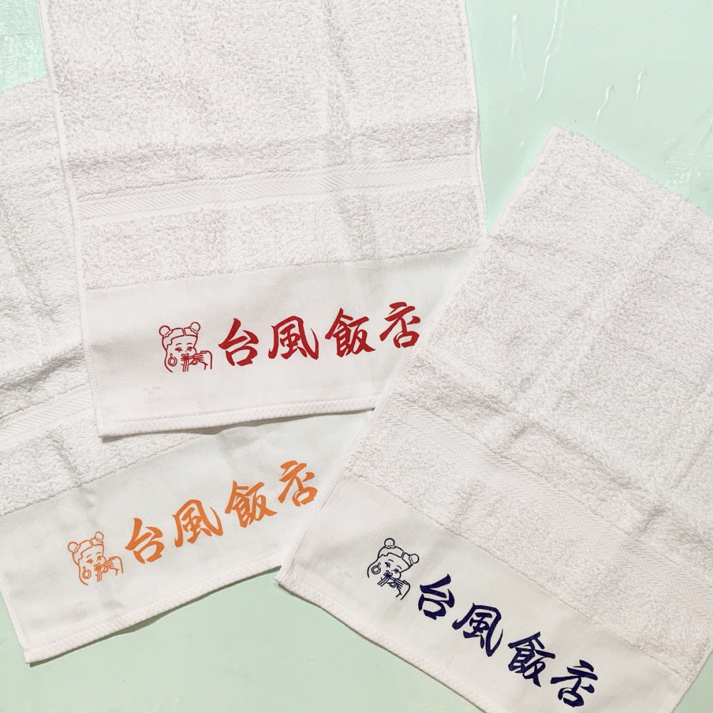台風飯店 FACE TOWEL 3COLORS TH-01