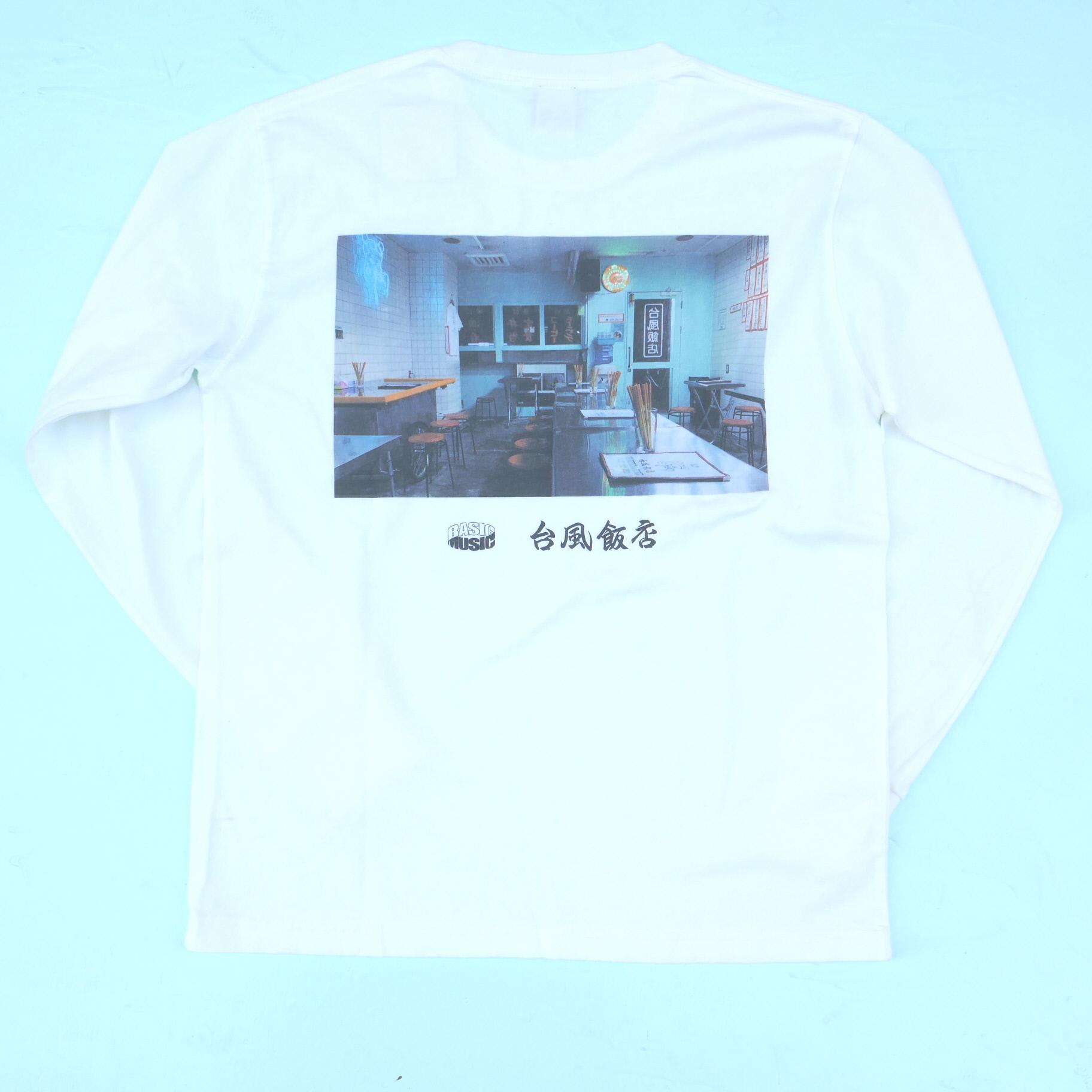 BASI×台風飯店 L/S TEE