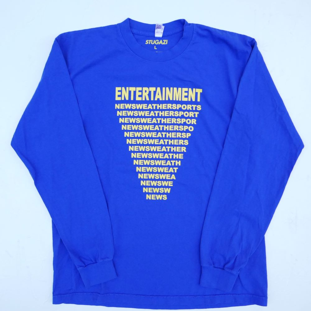 STUGAZI ENTERTAINMENT L/S TEE