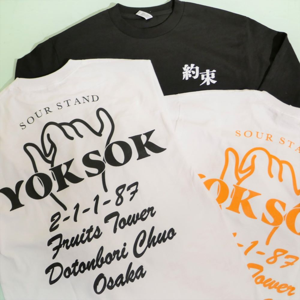 YOKSOK L/S TEE 3COLORS