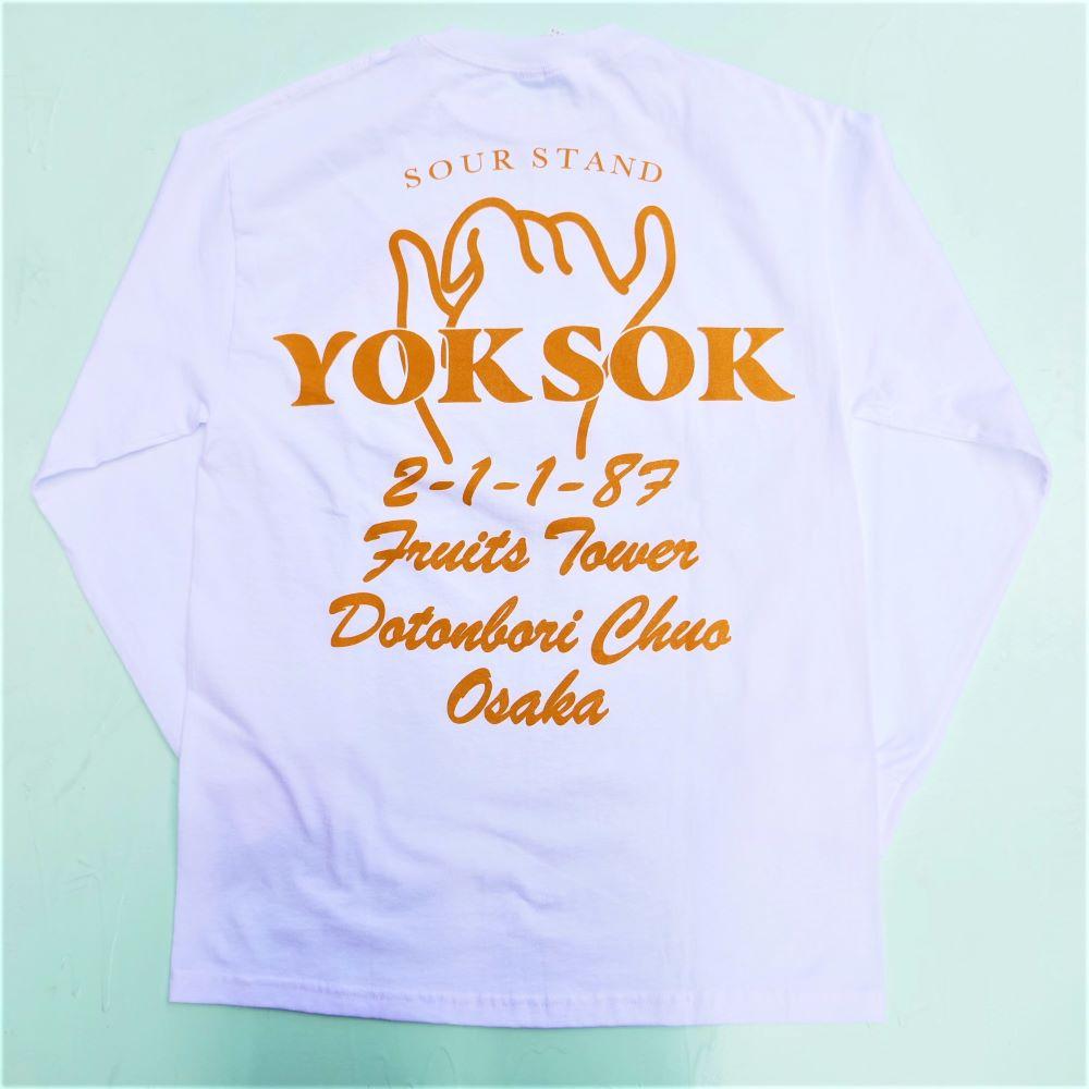 YOK SOK L/S TEE 3COLORS YS-01
