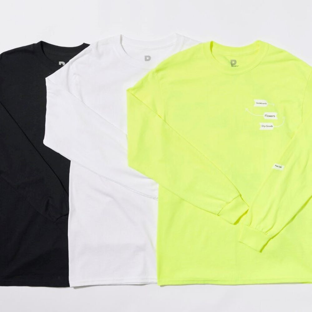 PARK DELI WINDOWS GRID L/S TEE 3COLORS